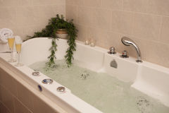 Luxury bathtub Stock Photography