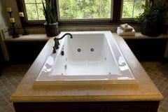 Luxury bathtub Royalty Free Stock Photos