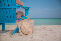 Luxury Beach Bum Stock Photography