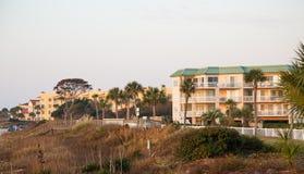 Luxury Beach Condos Royalty Free Stock Image