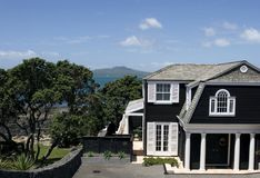 Luxury Beach House. In Takapuna Auckland Stock Photos