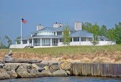 Luxury beach house Stock Photo