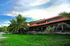 Luxury Beach Resort Stock Photo