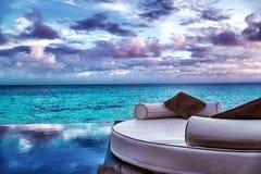Luxury beach resort Royalty Free Stock Photography