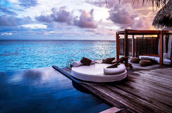 Luxury beach resort Stock Photos