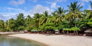 Luxury Beach Resort. A luxury beach holiday resort on a asian island royalty free stock photography