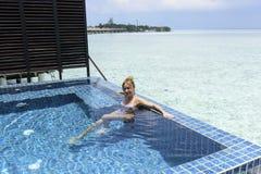 luxury beach resort Royalty Free Stock Photos