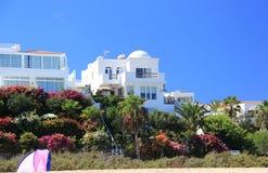 Luxury beachfront holiday villas. Stock Photos