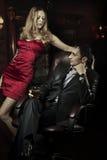Luxury beautiful couple stock photo