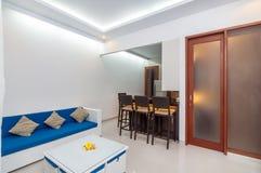 Luxury and Beautiful Interior Room Villa Stock Image