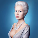 Luxury beautiful woman Royalty Free Stock Photography