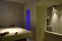 Luxury beauty center. Of Italy Royalty Free Stock Image