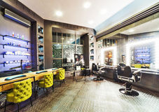 Luxury beauty salon. Interior of luxury beauty salon Stock Photography