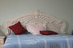Luxury bed Stock Photography