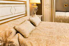 Luxury bed Royalty Free Stock Photography