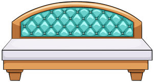 Luxury bed. Close up luxury king side bed Royalty Free Stock Images