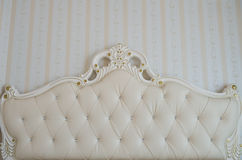 Luxury bed detail Royalty Free Stock Photo