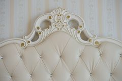 Luxury bed detail Royalty Free Stock Photography