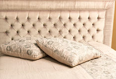 Luxury bed Royalty Free Stock Photo