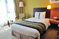 Luxury bed room stock photo