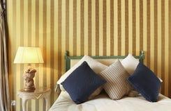Luxury bedroom Stock Image