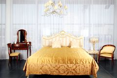 Luxury Bedroom Stock Images