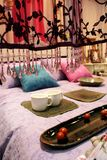 Luxury bedroom - home interiors Stock Photo