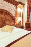 Luxury bedroom interior Royalty Free Stock Image