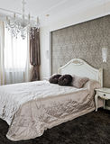 Luxury bedroom interior Royalty Free Stock Images