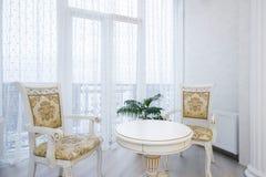 Luxury bedroom interior Stock Photography