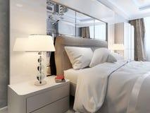 Luxury bedroom interior Royalty Free Stock Photos