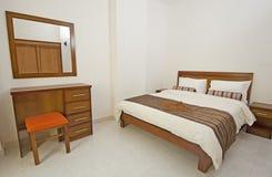 Luxury bedroom interior design Stock Images