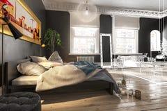 Luxury Bedroom preview stock illustration