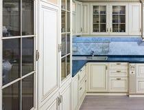 Luxury Beige Kitchen Stock Image