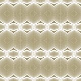 Luxury beige and white linear pattern. Psychedelic black and white linear pattern, elegant vector seamless background, wallpaper, or textile Royalty Free Stock Photography