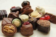 Luxury Belgium Chocolates Royalty Free Stock Images