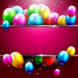 Luxury birthday background Royalty Free Stock Photo