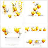 Luxury birthday backgrounds Stock Images