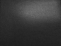 Luxury black leather texture background Stock Image