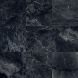 The luxury of black marble tiles texture and background. Royalty Free Stock Photography