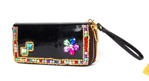 Luxury Black  Purse Royalty Free Stock Photo