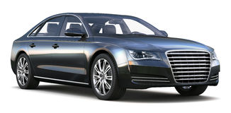 Luxury sedan Royalty Free Stock Images