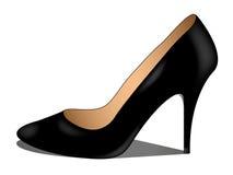 Luxury black shoe Royalty Free Stock Image