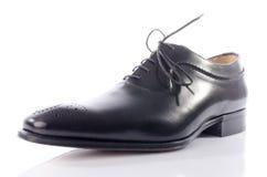 Luxury black shoe Royalty Free Stock Photos