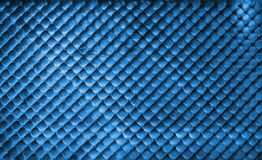 Luxury blue buttoned background Royalty Free Stock Image