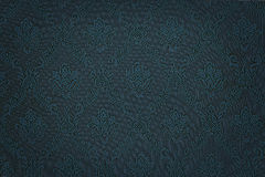 Luxury blue floral damask wallpaper Royalty Free Stock Photography