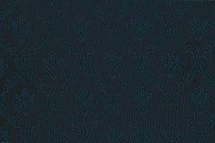 Luxury blue floral wallpaper Stock Photos