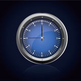 Luxury blue watches royalty free illustration