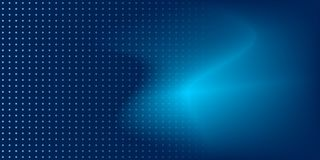 Luxury blur background blue color with dots stock illustration
