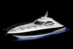 Luxury Boat Royalty Free Stock Photography